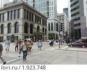 Жизнь на улицах Чикаго (2010 год). Редакционное фото, фотограф Marina Butirskaya / Фотобанк Лори