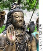 Индийский Бог Шива. Стоковое фото, фотограф Сергей Тарасов / Фотобанк Лори