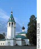 Церковь в городе Городец. Стоковое фото, фотограф Ирина Глоор / Фотобанк Лори