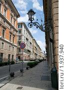 Генуя, Via Roma (2010 год). Стоковое фото, фотограф Игорь Демидов / Фотобанк Лори