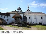 Купить «Соловецкий монастырь. Внутренний двор», фото № 1945192, снято 17 июля 2010 г. (c) Анастасия Семенова / Фотобанк Лори