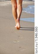 Следы на песке. Стоковое фото, фотограф igor faustov / Фотобанк Лори