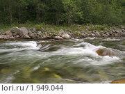 Поток реки вблизи Байкала. Стоковое фото, фотограф Андрей Михайлов / Фотобанк Лори