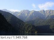 Горы над озером Рица. Абхазия. Стоковое фото, фотограф Дмитрий К / Фотобанк Лори