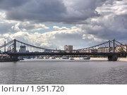 Москва. Крымский мост (2010 год). Стоковое фото, фотограф Илюхина Наталья / Фотобанк Лори