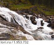 Купить «Республика Алтай. Водопад на реке Поперечная», фото № 1953732, снято 22 августа 2010 г. (c) Andrey M / Фотобанк Лори