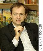 Владимир Мединский (2008 год). Редакционное фото, фотограф игорь иванов / Фотобанк Лори