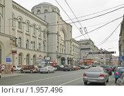 Купить «Главный Почтамт в Москве на Мясницкой улице», эксклюзивное фото № 1957496, снято 10 августа 2010 г. (c) Алёшина Оксана / Фотобанк Лори
