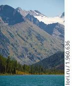 Купить «Алтай. Озеро Среднее Мультинское», фото № 1960636, снято 21 августа 2010 г. (c) Andrey M / Фотобанк Лори