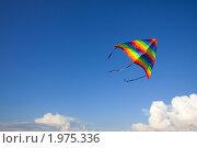 Купить «Воздушный змей», фото № 1975336, снято 29 июля 2010 г. (c) Майя Крученкова / Фотобанк Лори