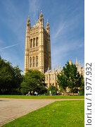 Купить «Вестминстерское аббатство», фото № 1977932, снято 14 сентября 2008 г. (c) Артем Абрамян / Фотобанк Лори