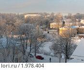 Торжок. Вид с бульвара на старый город (2010 год). Стоковое фото, фотограф Юрков Виктор Петрович / Фотобанк Лори