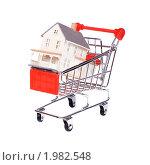 Купить «Покупка дома», фото № 1982548, снято 25 июля 2010 г. (c) Андрей Павлов / Фотобанк Лори