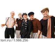Купить «Компания стильных молодых людей», фото № 1986256, снято 19 апреля 2009 г. (c) Никита Буйда / Фотобанк Лори