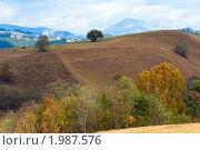 Купить «Осень в горах», фото № 1987576, снято 5 октября 2009 г. (c) Юрий Брыкайло / Фотобанк Лори