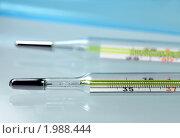 Купить «Медицинские ртутные градусники», фото № 1988444, снято 16 декабря 2009 г. (c) ElenArt / Фотобанк Лори