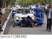 Подготовка к ралли (2010 год). Редакционное фото, фотограф Александр Романов / Фотобанк Лори