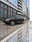 Автомобиль Lexus RX350 (2009 год). Редакционное фото, фотограф Elena / Фотобанк Лори