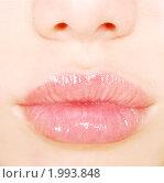 Женские губы. Стоковое фото, фотограф Насыров Руслан / Фотобанк Лори