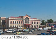 Купить «Привокзальная площадь Савеловского вокзала», эксклюзивное фото № 1994800, снято 21 мая 2010 г. (c) Алёшина Оксана / Фотобанк Лори