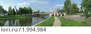 Купить «Орел. Панорама набережной Орлика.», фото № 1994984, снято 25 июня 2009 г. (c) Юрий Жеребцов / Фотобанк Лори