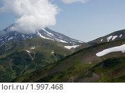 Горы на Камчатке. Стоковое фото, фотограф Андрей Михайлов / Фотобанк Лори
