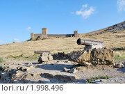 Судакская крепость (2009 год). Стоковое фото, фотограф Давыдов Юрий / Фотобанк Лори