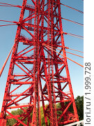Купить «Фрагмент арки Живописного моста. Москва», фото № 1999728, снято 25 сентября 2010 г. (c) Екатерина Овсянникова / Фотобанк Лори
