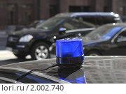 Купить «Спецсигнал на автомобиле», эксклюзивное фото № 2002740, снято 24 сентября 2010 г. (c) Дмитрий Неумоин / Фотобанк Лори