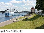 Набережная Рыбинска (2010 год). Стоковое фото, фотограф Ронжин Сергей / Фотобанк Лори