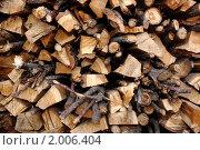Разносортные дрова. Стоковое фото, фотограф Евгений Курлыкин / Фотобанк Лори