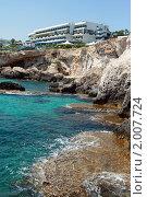 Отель на берегу моря. Стоковое фото, фотограф Мария Васильева / Фотобанк Лори