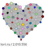 Купить «Большое сердце», иллюстрация № 2010556 (c) Татьяна Васина / Фотобанк Лори