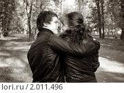 Купить «Осенняя история любви», фото № 2011496, снято 26 сентября 2010 г. (c) Okssi / Фотобанк Лори