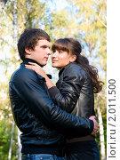 Купить «Осенняя история любви», фото № 2011500, снято 26 сентября 2010 г. (c) Okssi / Фотобанк Лори