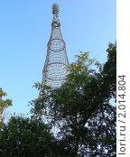 Купить «Шуховская (Шаболовская) башня. Москва», эксклюзивное фото № 2014804, снято 19 июля 2010 г. (c) lana1501 / Фотобанк Лори