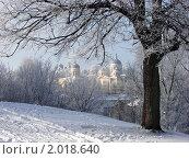 Торжок. Вид с бульвара на старый город (2008 год). Стоковое фото, фотограф Юрков Виктор Петрович / Фотобанк Лори