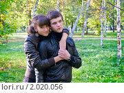 Купить «Осенняя история любви», фото № 2020056, снято 26 сентября 2010 г. (c) Okssi / Фотобанк Лори
