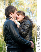 Купить «Осенняя история любви», фото № 2020060, снято 26 сентября 2010 г. (c) Okssi / Фотобанк Лори