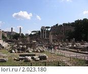 Рим, эхо истории (2008 год). Стоковое фото, фотограф Дмитрий Казанцев / Фотобанк Лори