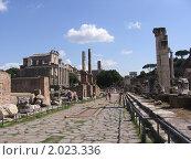 Рим, дорога в историю (2008 год). Стоковое фото, фотограф Дмитрий Казанцев / Фотобанк Лори