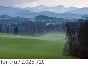 Поле после  дождя (2010 год). Стоковое фото, фотограф Максим Блинов / Фотобанк Лори