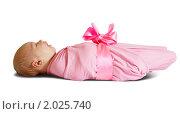 Купить «Новорожденный малыш», фото № 2025740, снято 24 сентября 2010 г. (c) Яков Филимонов / Фотобанк Лори
