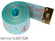 Купить «Измерительная лента», фото № 2027528, снято 4 декабря 2009 г. (c) Losevsky Pavel / Фотобанк Лори
