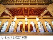 Купить «Большая Мечеть Омана», фото № 2027708, снято 13 апреля 2010 г. (c) Losevsky Pavel / Фотобанк Лори