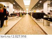 Интерьер магазина одежды (2009 год). Редакционное фото, фотограф Losevsky Pavel / Фотобанк Лори