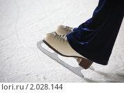 Купить «Фигурные коньки», фото № 2028144, снято 6 декабря 2009 г. (c) Losevsky Pavel / Фотобанк Лори