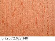 Купить «Фрагмент ковра с ворсом грубой текстуры, коричнево-желтого цвета. Макро», фото № 2028148, снято 18 ноября 2009 г. (c) Losevsky Pavel / Фотобанк Лори