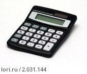 Калькулятор. Стоковое фото, фотограф Максим Сидоров / Фотобанк Лори