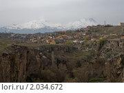 Деревня в горах , Турция (2010 год). Стоковое фото, фотограф Владимир Ионов / Фотобанк Лори